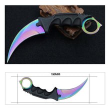 CS GO Camping Knives Top Quality Tactical Claw hobby survival Karambit Ring Knife