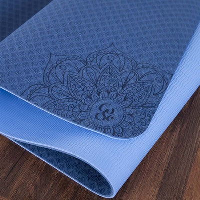 Yoga Mat 6mm + Free Yoga Belt + Free Yoga Bag