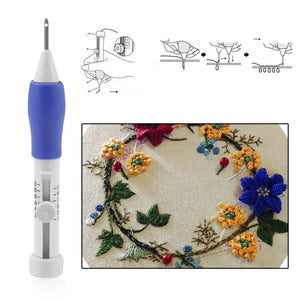 Embroidery Needle Stitching Tool
