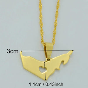 United Arab Emirates Pendant Necklace