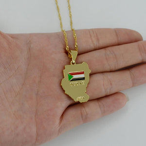 Sudan Pendant Necklace