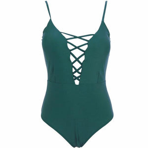 Vintage One Piece Swimsuit