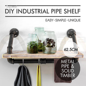 Industrial Style Wall Shelves