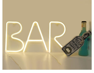 Bright-On™ Neon Letter Lights