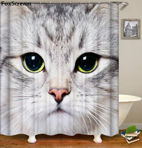 Clean-Kitty™ Shower Curtains