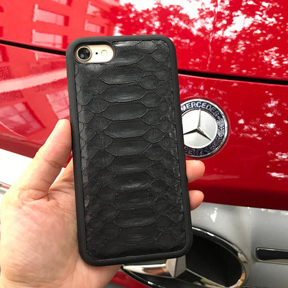 Black/Green/Red Python iPhone Case