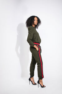 On The Run Tracksuit - Six & Ten Boutique