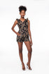 Flower Bomb Romper (Black)