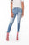 Frayed Ankle Skinny Jeans - Six & Ten Boutique