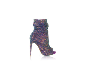 Spotlight Bootie by Nelly Bernal (Violet) - Six & Ten Boutique