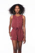 Wine Down Romper