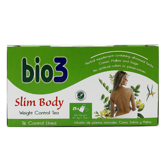 Bio 3 Slim Body Weight Control Tea 25 Bags