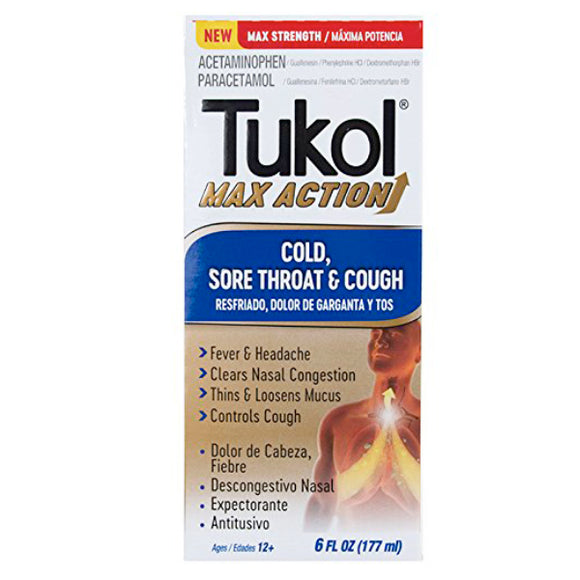 Tukol Max Cold and Flu 6 oz.
