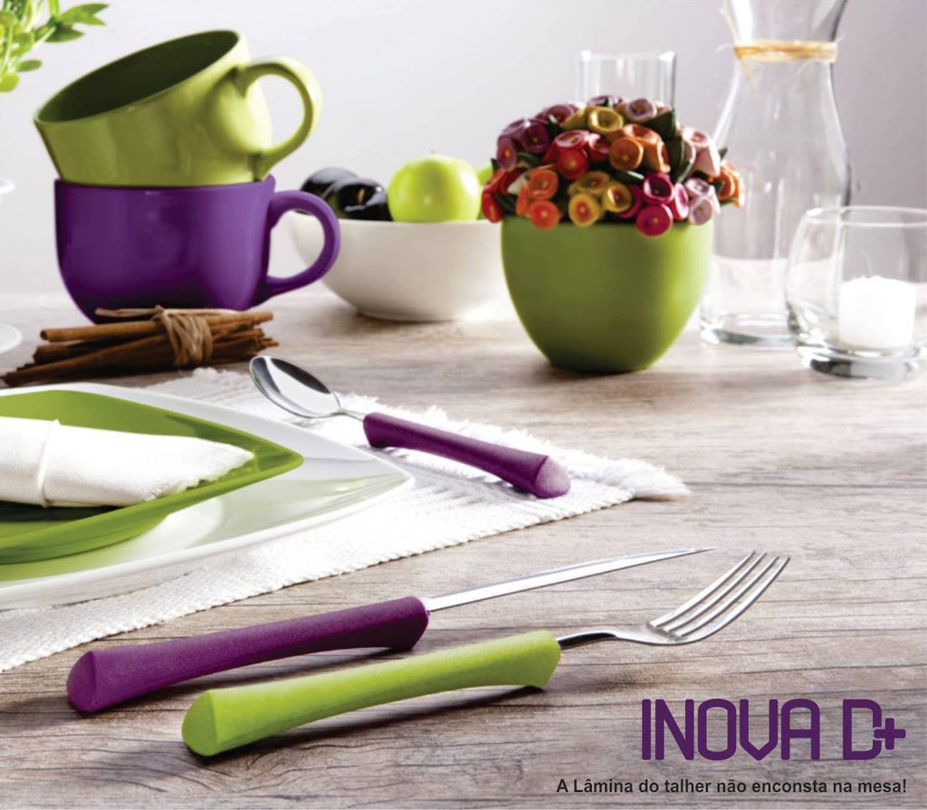 Inova D+ Yellow Dessert Spoon