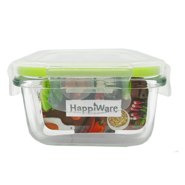 HappiWare Multi-Purpose Glass Container 350ML