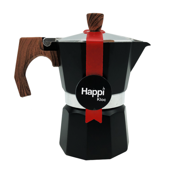 HappiKloc Espresso Maker 3 Cups