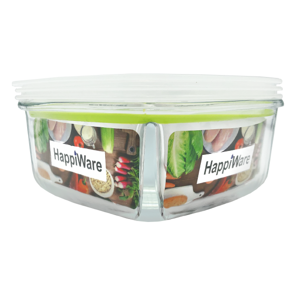 HappiWare Multi-Purpose Glass Container 950ML