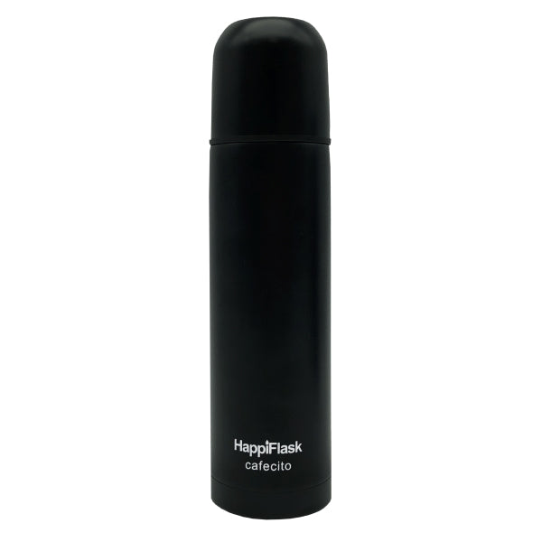 HappiFlask Espresso Cafecito Flask Black Matt 250 ml.