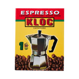 KLOC Aluminum Espresso Maker (Available in different cup sizes)