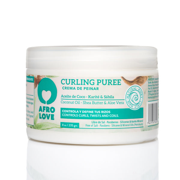 Afro Love Curling Puree Styling Cream 8 oz.