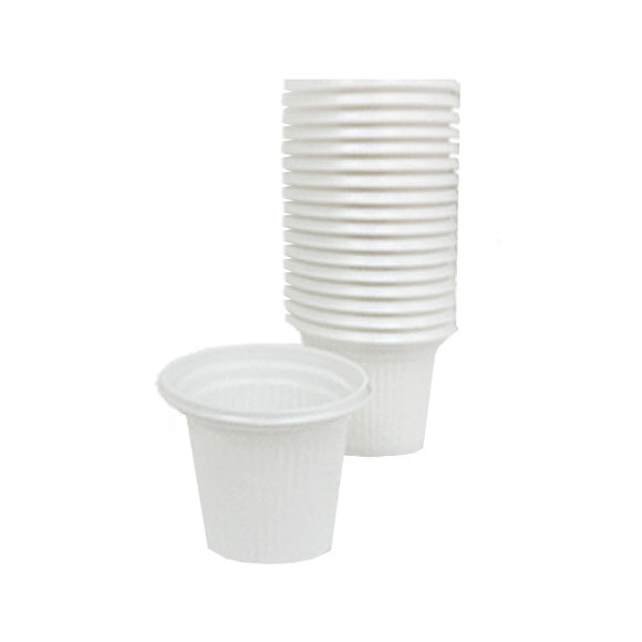 Disposable Plastic Cups For Espresso Coffee (250 Count)