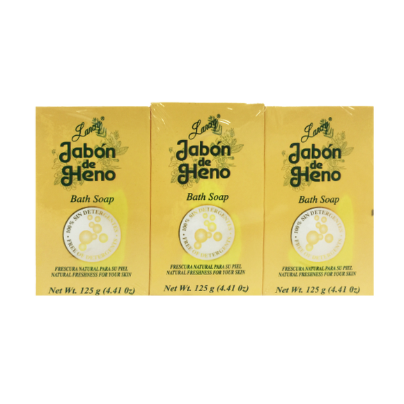 Heno de Lancry Bath Soap 3PK 12.60oz