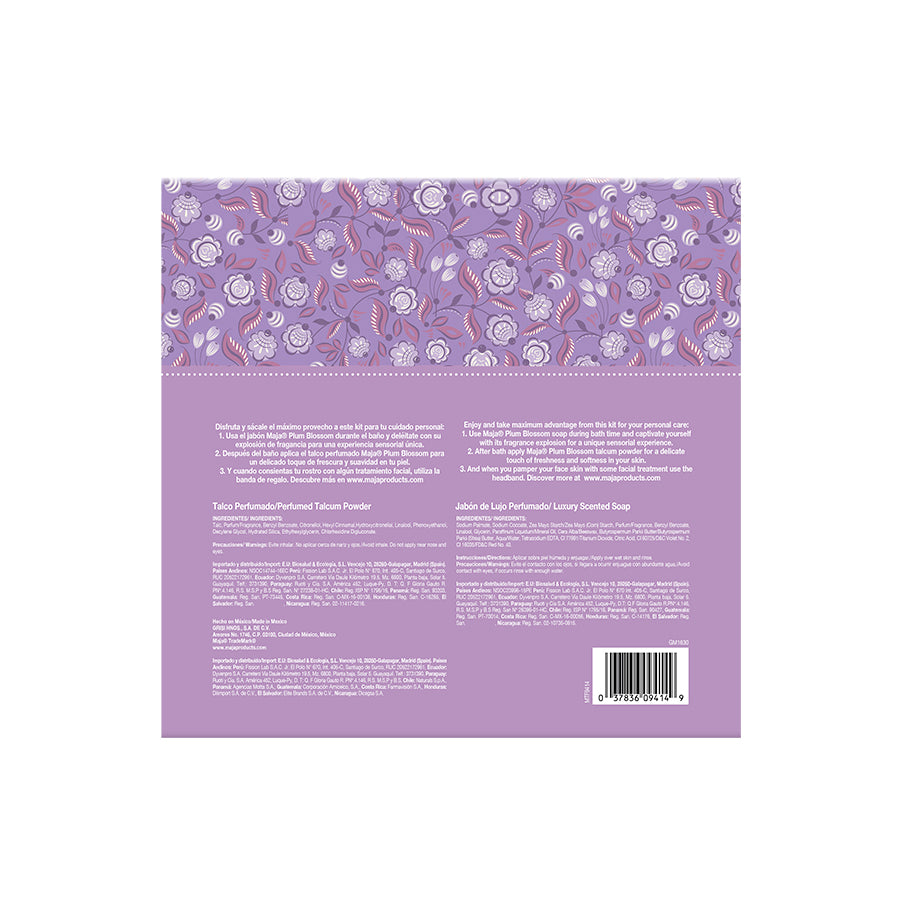 Maja Plum Blossom Luxury Gift Set with Facial Towel