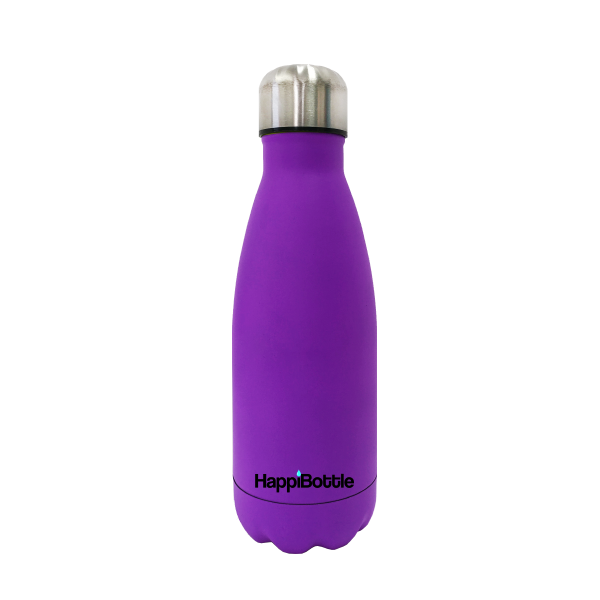 Matte Purple Water Bottle