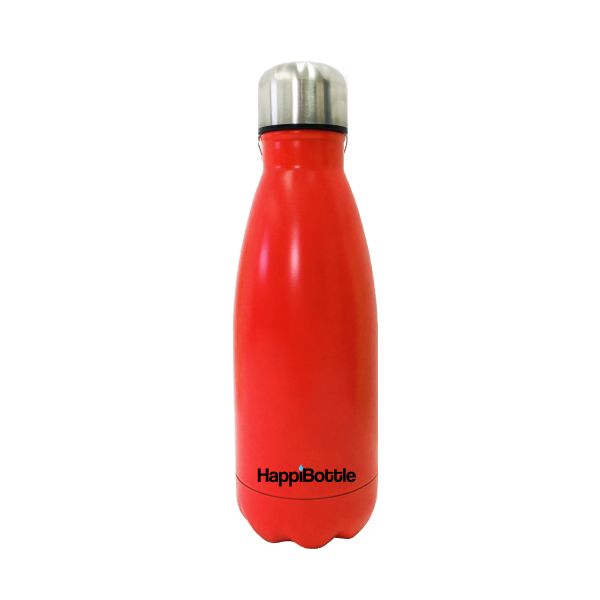 Matte Red Water Bottle