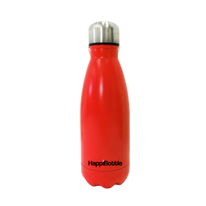 HAPPiBOTTLE Red Matte Finish 350ML