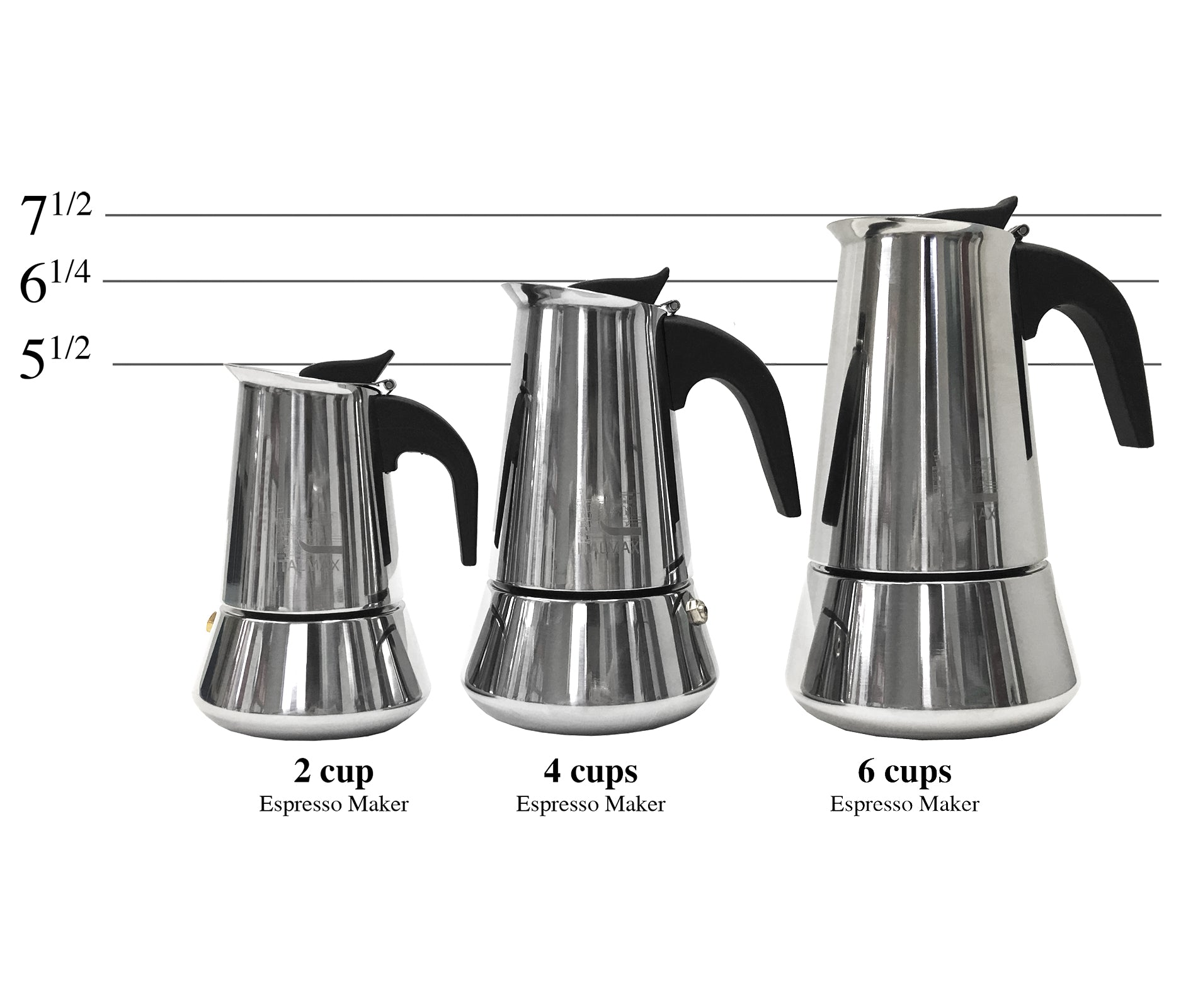 Stainless Steel Espresso Coffee Maker
