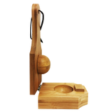 KLOC Bamboo Plantain Press & Mold / Tostonera De Relleno