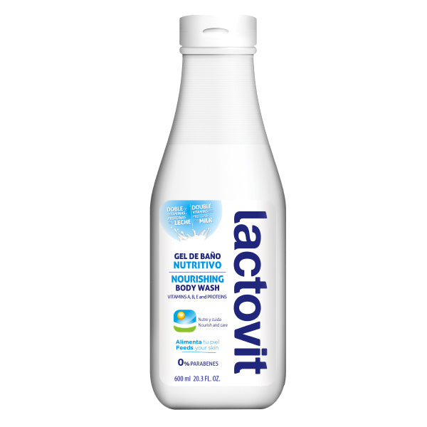 Lactovit Bath Gel 600 ml.
