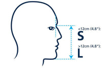 full face snorkel mask size chart