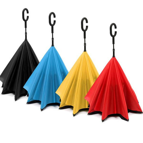 reversable double layer umbrella