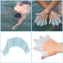 silicone swimming hands