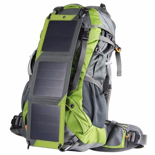 professional solar panel hiking backpack
