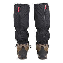 waterproof leg zip up gaiters snow rain