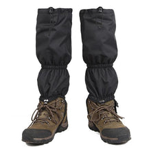 waterproof leg zipper gaiters snow rain