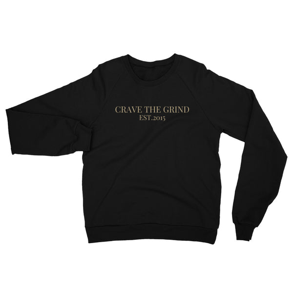 Crave The Grind Fleece Raglan Sweatshirt