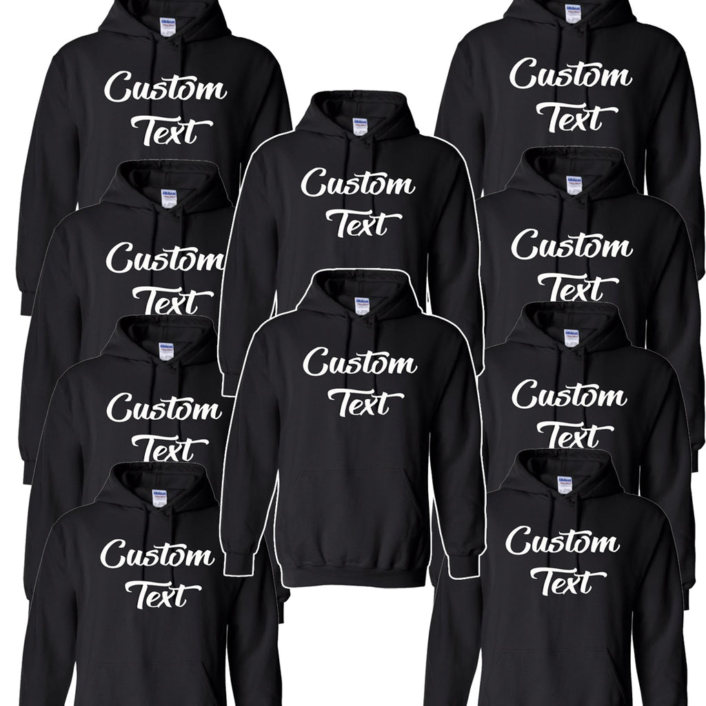 10 Custom Hoodies