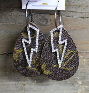 LV Lightning earrings