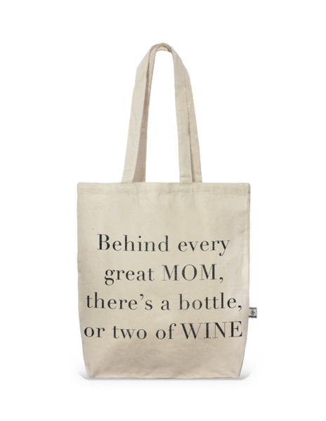 Tote- City Tote Behind Every Great Mom
