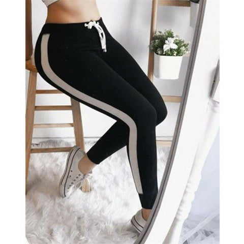 US Womens Fitness Yoga Leggings Running Sport High Waist Jogging Pants Trousers
