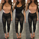 Women's Ladies Clubwear Lace Playsuit Bodycon Party Jumpsuit&Romper Trousers US