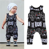 US Stock Toddler Kids Boys Darth Vader Romper Bodysuit Jumpsuit Clothes Outfits