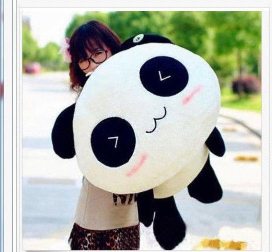 KAWAII Plush Doll Toy Animal Giant Panda Pillow Stuffed Bolster Gift 55cm
