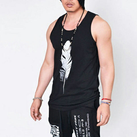 Men Muscle Bodybuilding Sleeveless Summer Shirt Tank Top Gym Fitness Sports Vest