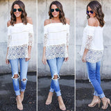 US Stock Women Summer Lace Vest Top Sleeveless Blouse Casual Tank Tops T-Shirt