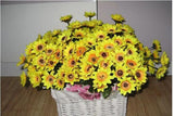 Artificial 14 Head Fake Sunflower Silk Flower Bouquet Home Wedding Floral Decor 1004587789128